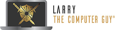 Larry The Computer Guy Logo